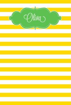 Fat Pad-Sunflower Stripes
