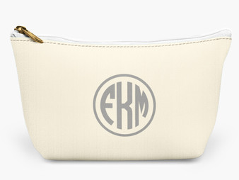 Accessory Zip T-Tote- Ivory