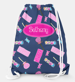Drawstring Backpack- Candy