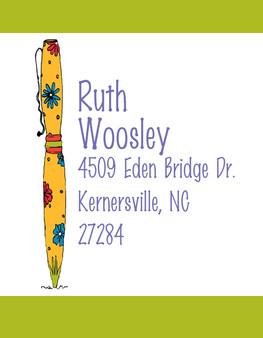 Address Stickers -Pens