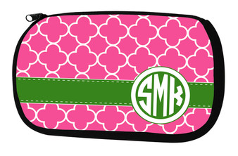 Cosmetic Bag-Raspberry Clover