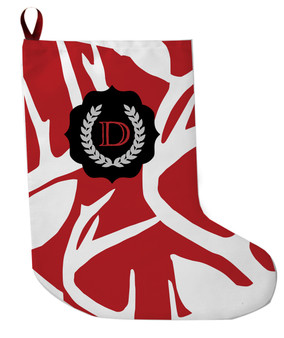 Stocking - Abstract Deer Colors