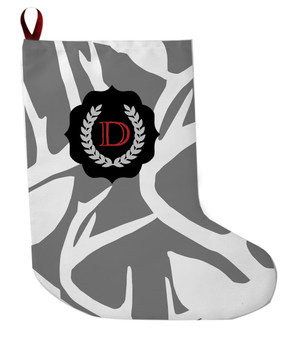 Stocking - Abstract Deer Gray