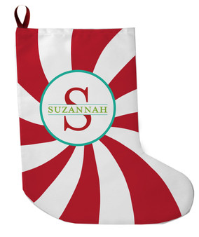 Stocking - Large Peppermint