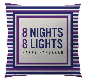 Pillows - Hanukkah 8 Nights 8 Lights
