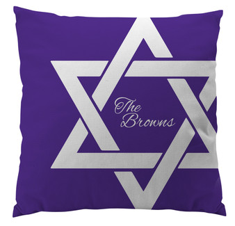 Pillows - Hanukkah Star of David Bold