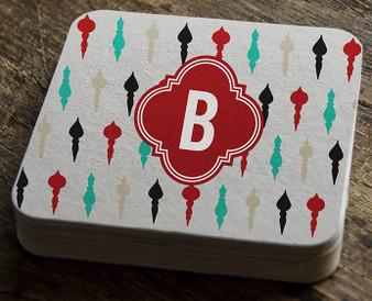 Paper Coaster - Ornaments Color