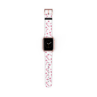 Apple Watch Band - Candy Cane