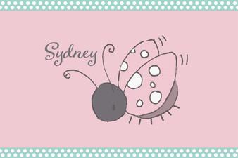 Placemat- Little Ladybug