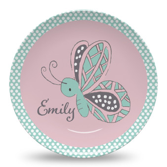 Microwave Safe Dinnerware Plate - Little Butterfly