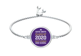 Graduation Slide Bracelet
