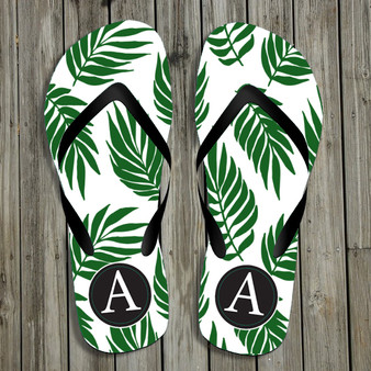Flip Flops- Graphic Palm