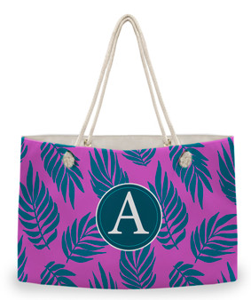 Weekender Tote - Graphic Palm Tropical