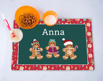 Placemat- Gingerbread Delight