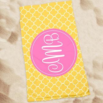 Beach Towel-Clover Sun