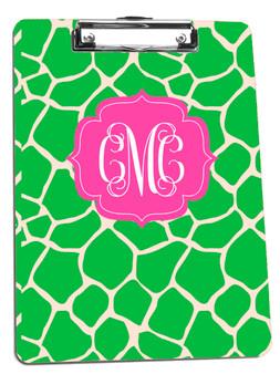 Clipboard-Apple Green GIraffe