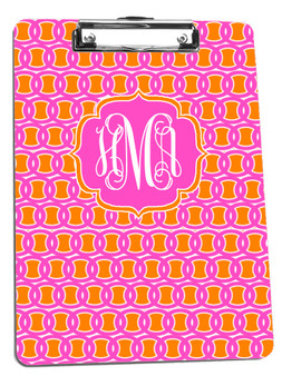 Clipboard- Pink and Orange Links