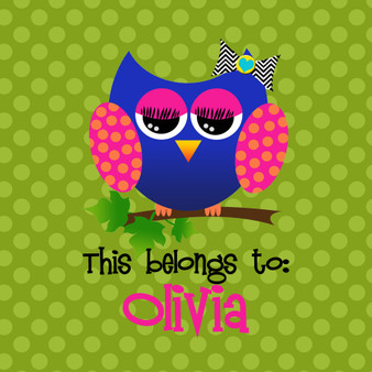 Stickers- Allie the Owl