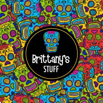 Stickers- Comic Sugar Skulls