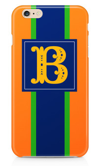 Hardcases- Orange Rugby Stripe