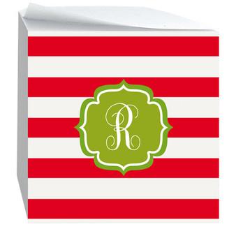 Notecube-Holiday Stripes