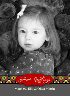 Holiday Photocard-Olivia