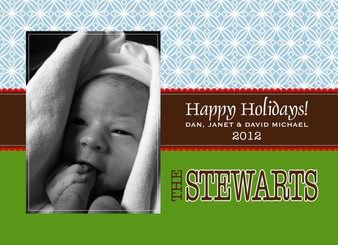 Holiday Photocard-Edith