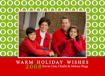 Copy of Holiday Photocard-Ooh Red and Green