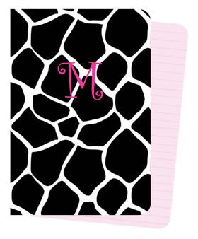 Mini Journals - BW Giraffe
