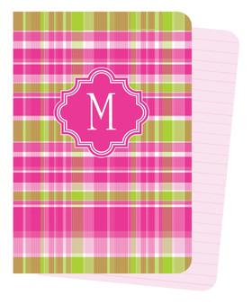 Mini Journals - Hot Pink Plaid
