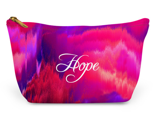 Accessory Zip T-Tote- Breast Cancer Awareness
