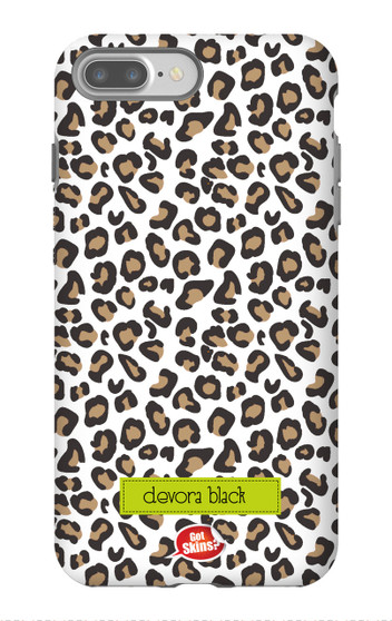 Hardcases-White Leopard