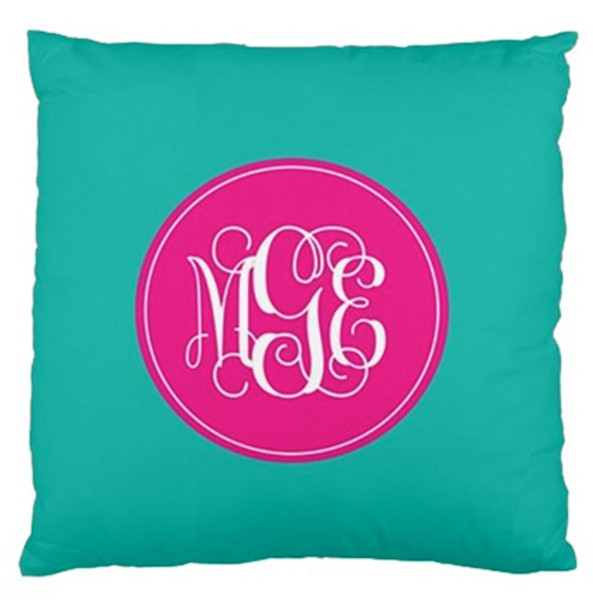 Pillow-Turquoise Solid