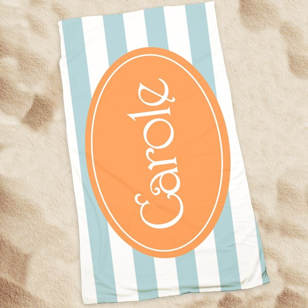 Beach Towel-Beach Stripes