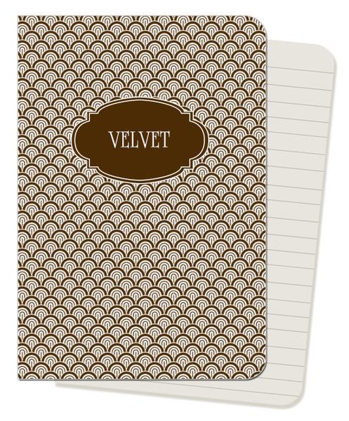 Mini Journals - Chocolate Waves