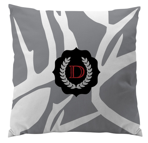 Pillows - Abstract Deer Gray