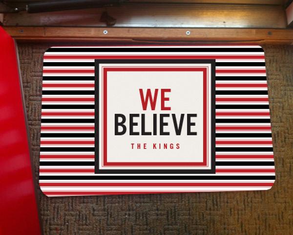 Doormat - We Believe