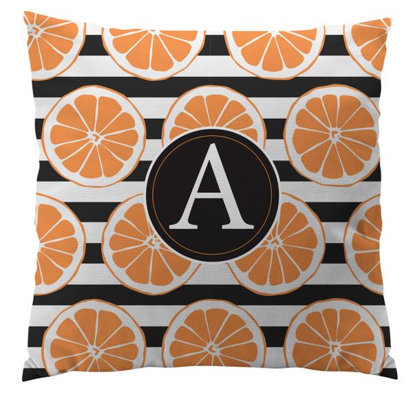 Pillows - Orange Stripes