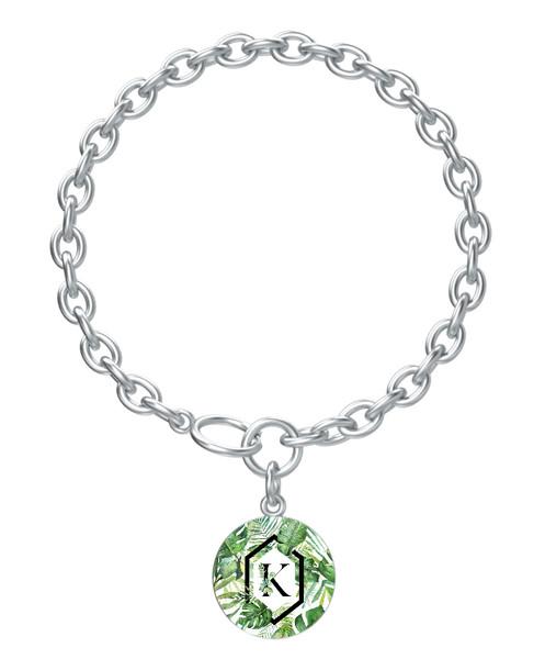 Palm Paradise Charm Bracelet