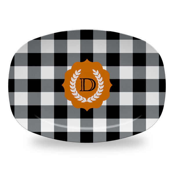 Microwavable Platter - Buffalo Plaid Fall