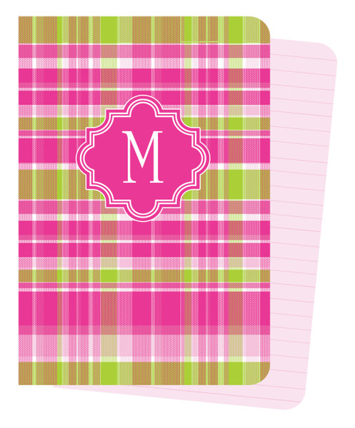 Mini Journals - Hot Pink Plaid