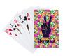 Playing Cards- Orange Crush Tie Dye