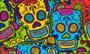 Calling Cards- Comic Skulls