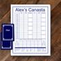 Canasta Pad Gift Set- Alex-Navy