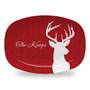 Microwavable Platter - Deer Damask