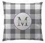 Pillows - Gingham Gray