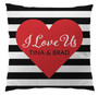 Pillows - Stripes and Heart