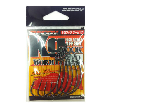 Decoy High Power Offset Worm Hook #808054 4/0