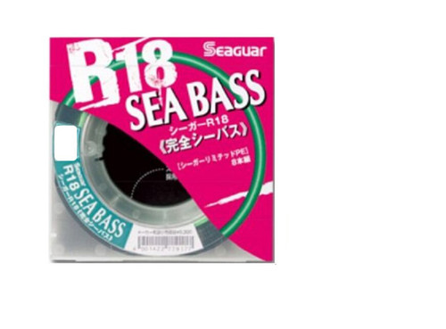 Seaguar Sea Bass Braid R18 8X 150m 11lb 5KG