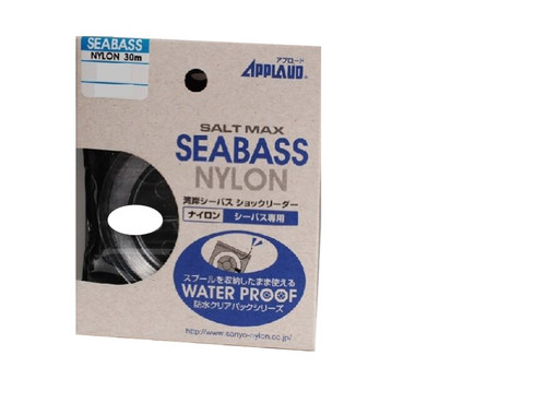 Sanyo Salt Max Sea Bass Nylon Leader 30m 12LB 5KG